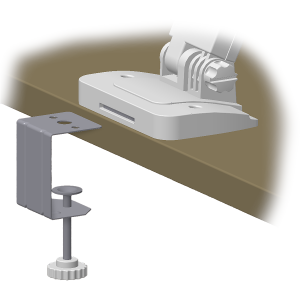 Clamper for ELMO OX-1 document camera