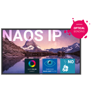 Newline NAOS IP series interactive display 86