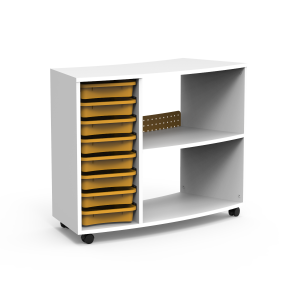 Nautilus BOX Cabinets, curved, external with trays