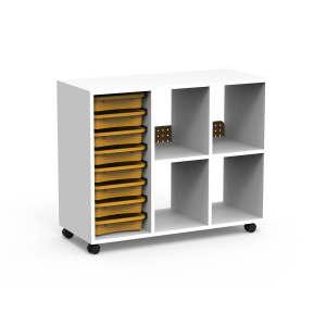 Nautilus BOX Cabinets with trays
