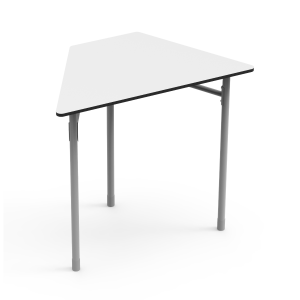 Nautilus Table DESK21 I Trapezoid 6, height-adjustable (52-64 cm)