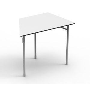 Nautilus Table DESK21 I Trapezoid 8, height-adjustable (52-64 cm)