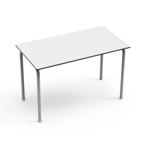 Nautilus Double Table DESK21 U, rectangular, height-adjustable (70-82 cm)