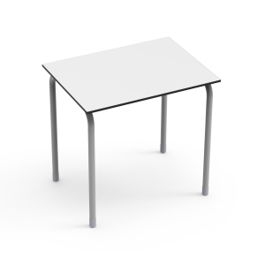 Nautilus Single Table DESK21 U, rectangular, height-adjustable (70-82 cm)