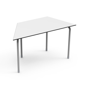 Nautilus Table DESK21 U, trapezoidal, height-adjustable (70-82 cm)