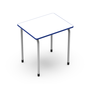 Nautilus Individual Table Q3, edge top, fix height