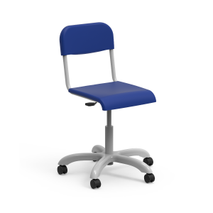 Nautilus Mais student Chair, mobile, height-adjustable